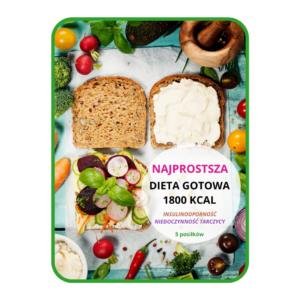 Najprostsza dieta gotowa 1800 kcal (5 posiłków) INSULINOOPORNOŚĆ I NIEDOCZYNNOŚĆ TARCZYCY