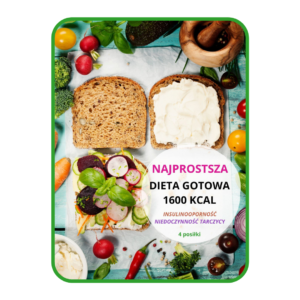 Najprostsza dieta gotowa 1600 kcal INSULINOOPORNOŚĆ I NIEDOCZYNNOŚĆ TARCZYCY